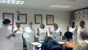 Department Meeting Officers Swearing In Ceremony - Aug 1 2015