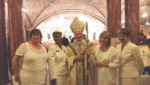 Fr Capodanno memorial mass with Archbishop Broglio
