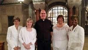Fr Capodanno memorial mass with Msgr John Foster