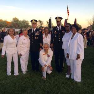 Ft. Meade Massing of the Colors