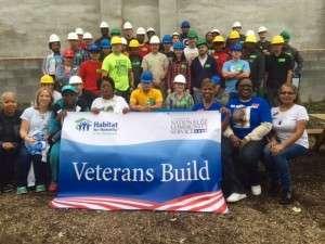 Habitat for Humanity - Veterans Build - Nov 7 2015