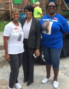 Habitat for Humanity_Janice_Mayor_Donna - 15 July 2015