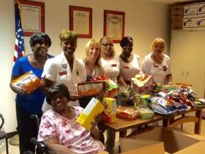 Packages for troops - Aug 1 2015