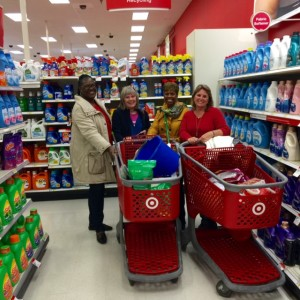 Shopping for troops and homeless vets - Nov 20 2015