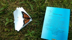 Butterfly Release - sept 25 2016