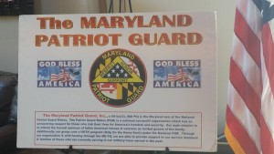 Maryland Patriot Guard BBQ - July 30 2016