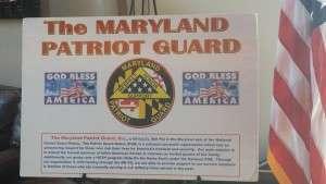 Maryland Patriot Guard BBQ - July 30 2016