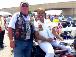 Rolling Thunder Ride - Janice - May 2016