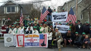 St. Patricks Day Parade with Warrior Events - March 6 2016
